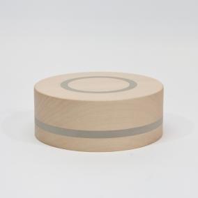 doosje circle lindehout ingelegd met rubber