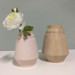 vorm voor vaas - keramist Hella Duijs